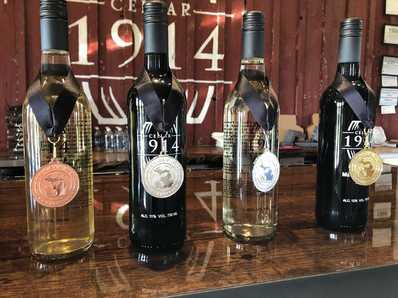 cellar 1914 wine awards