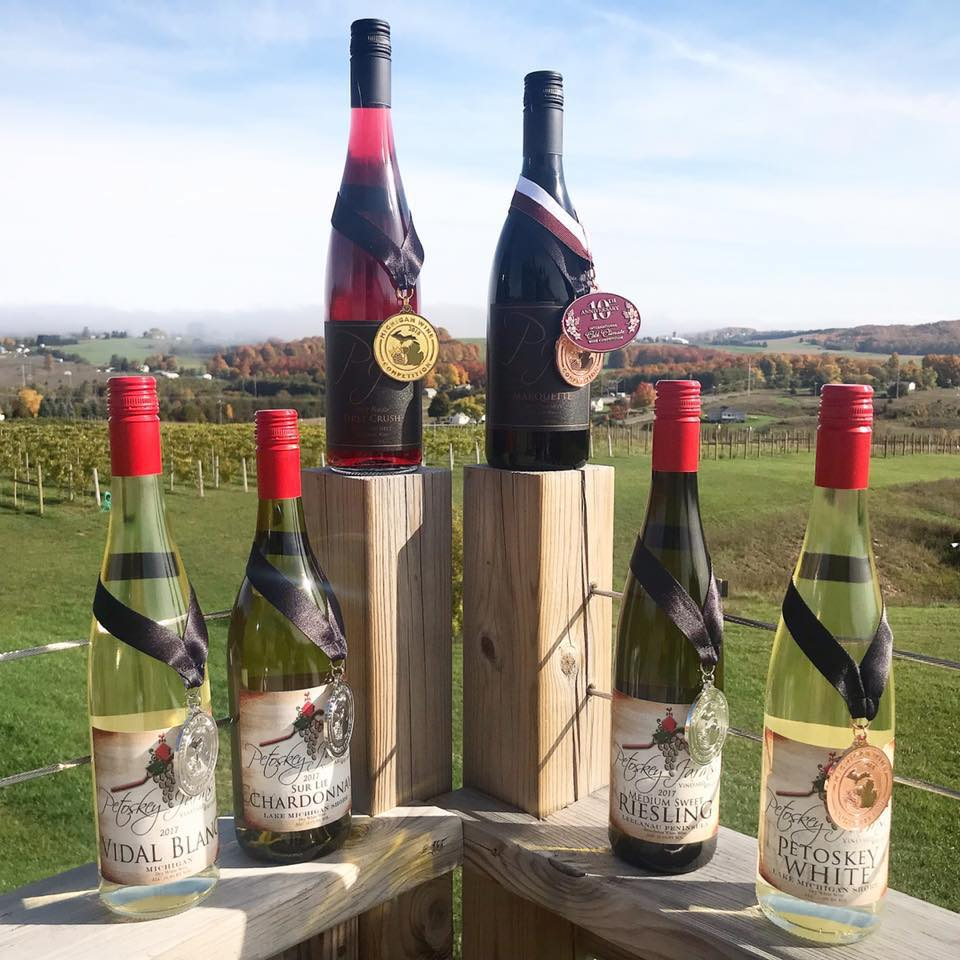 petoskey farms winery award winning wines
